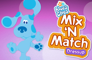 Blue's Mix'n Match Dressup