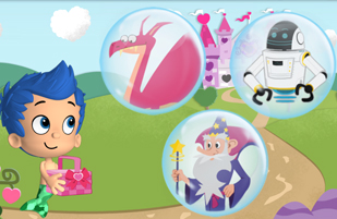 Bubble Guppies Happy Valentine's Play