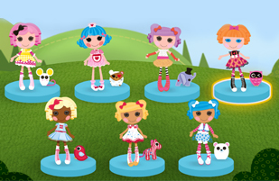 Lalaloopsy Friendship Parade Game
