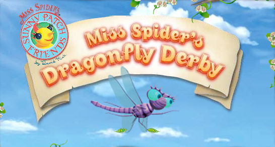 Miss Spider's Dragonfly Derby
