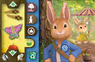 Peter Rabbit Make a Scene Game