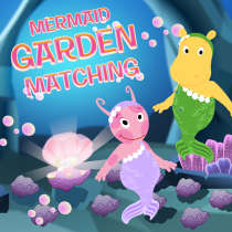 Backyardigans Mermaid Matching Game