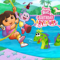 Dora's Big Birthday Adventure Game
