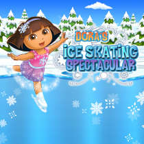 Dora's Ice Skating Spectacular Game