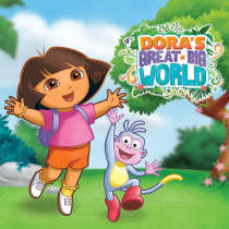 Dora's Great Big World Game