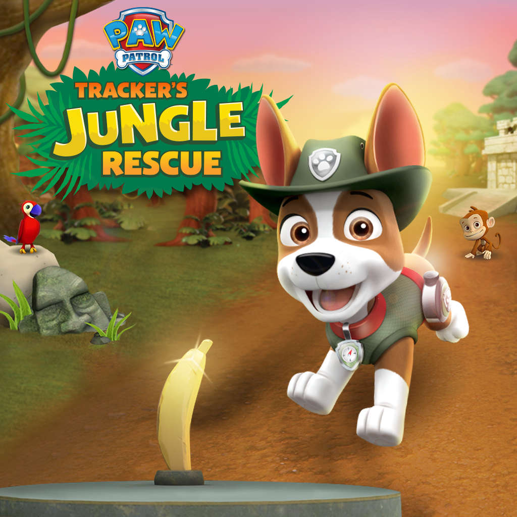 PAW Patrol Tracker's Jungle Rescue